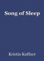 Song of Sleep