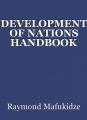 DEVELOPMENT OF NATIONS HANDBOOK
