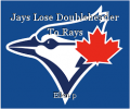 Jays Lose Doubleheader To Rays