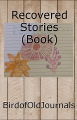 Recovered Stories (Book)