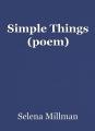 Simple Things (poem)