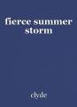 fierce summer storm