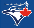toronto wins in extra innings