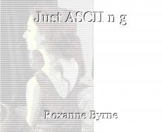 Just ASCII n g