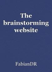 The brainstorming website