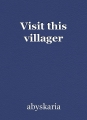 Visit this villager
