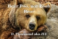 Bear Poo, not Pooh Bear