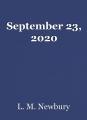 September 23, 2020