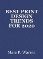 BEST PRINT DESIGN TRENDS FOR 2020