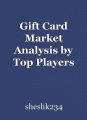 Gift Card Market Analysis by Top Players 2020 - Tender Card, and Plastek Card Solutions
