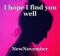 I hope I find you well
