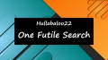 One Futile Search