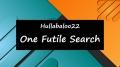 One Futile Search