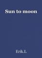 Sun to moon