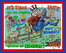 GET OUT - VOTE AMERICA!