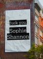 F*ck you, Sophie Shannon