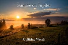 Sunrise on Jupiter