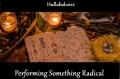 Performing Something Radical
