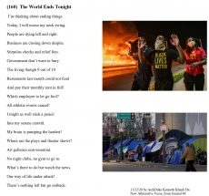 (160)  The World Ends Tonight