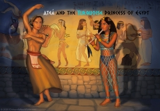 Ateá and the Turquoise Princess of Egypt