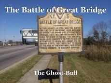 The Battle of Great Bridge