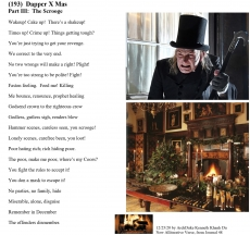 (193)  Dapper X Mas - Part III:  The Scrooge