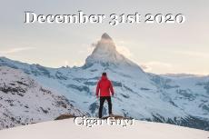 December 31st 2020