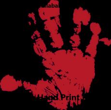 A Hand Print
