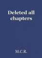 Deleted all chapters