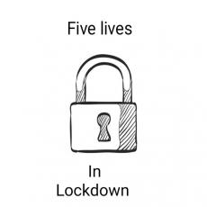 Five Lives In Lockdown - Karen starts a podcast