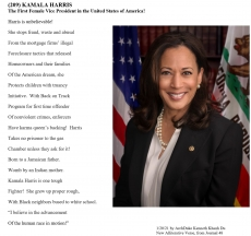 (209)  KAMALA HARRIS:  The First Vice President in the United States of America!