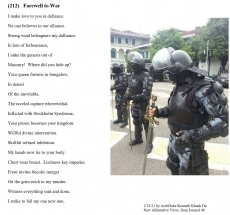 (212)   Farewell to War