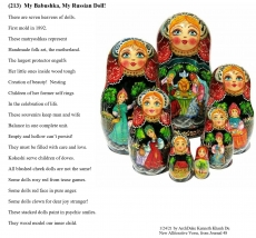 (213)  My Babushka, My Russian Doll!