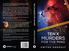 TEN X MURDERS FOR THE MIND -  TEASERS