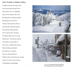 (214)  Weather to Shelter in Place