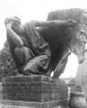 'Inside the last marble tear of a petrified angel'