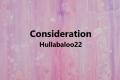 Consideration