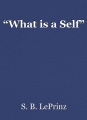 """What is a Self"""