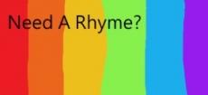 Need A Rhyme?