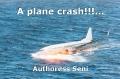A plane crash!!!...