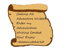 Adventure Writing Contest!