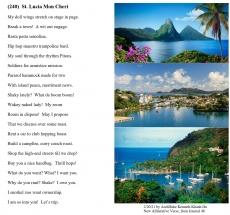 (240)  St. Lucia Mon Cheri