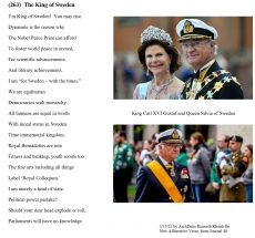 (263)  The King of Sweden