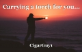 Carrying a torch for you...
