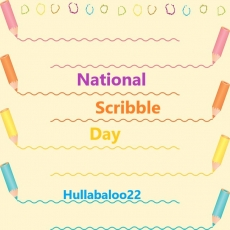 National Scribble Day