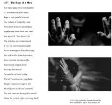 (277)  The Rape of a Man