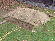 I buried my mother...alive