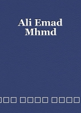 Ali Emad Mhmd