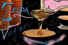 "----> ""ZELDA'S SECRET ! "" ---- Organic Vegan 'Blueberry PINK Yogurt' ? ---  Underground Window !? --- ''Icy GLITTER & FROSTY SECRETS ! ''"
