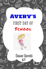 Avery 's first day of school